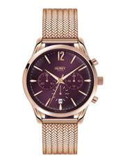 Hampstead 39mm Roségoud Dames Chronograaf
