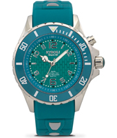 SC-008-40 Summer Splash Series 40mm Medium zeegroene quartz duiker