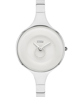 47272-W Ola 32mm Dames quartzhorloge met kleine seconde