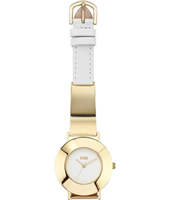 47351-GD Opie 34mm Goud Dames Quartzhorloge