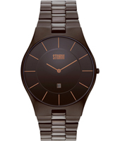 47159-BR Slim-X XL 40mm Dun heren designhorloge