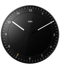 BNC017BKBK-NRC Black Clock Quartz 300mm