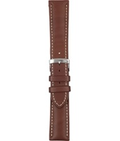 Calf leather<br />U3687 Castagno 22mm
