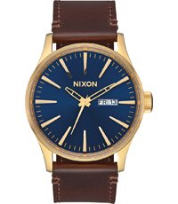 A105-3320 Sentry Leather 42mm